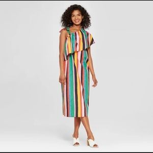 Target x Who what wear painted stripe dress